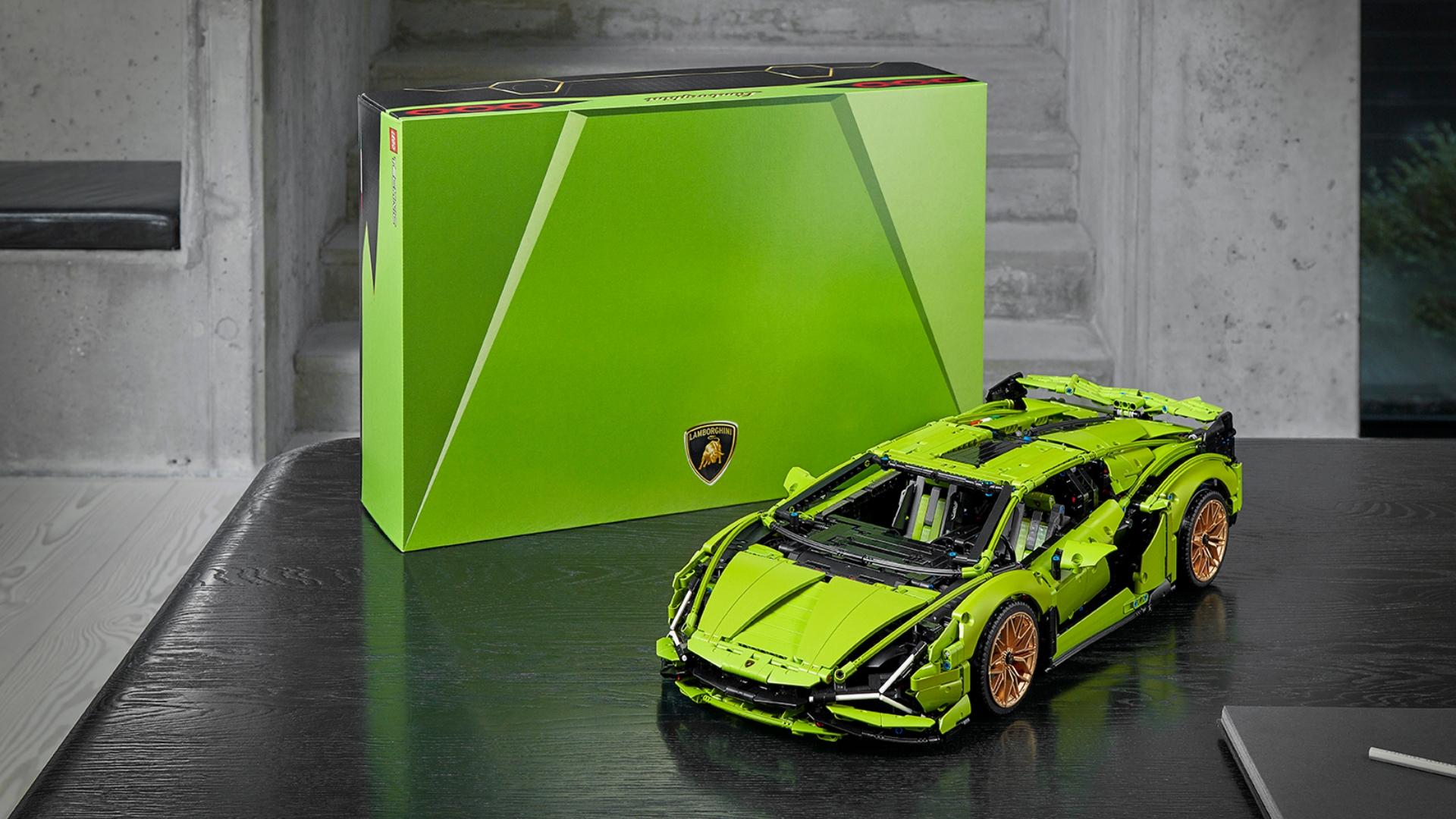 Lamborghini and LEGO Group recreate the Sián FKP 37
